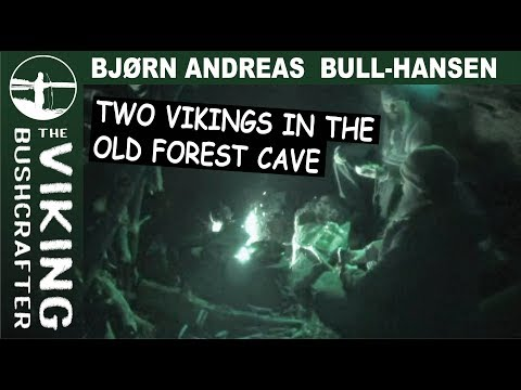 Two Vikings in the Old Forest Cave