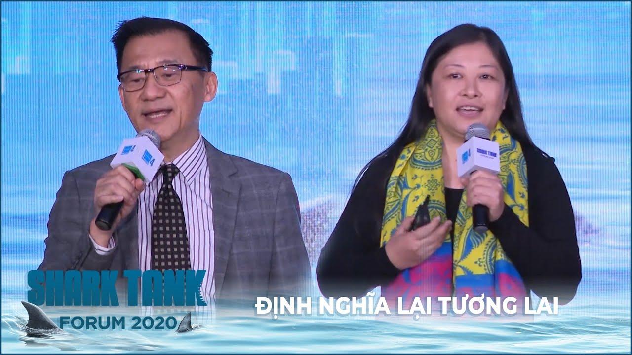 Shark Tank Forum 2021   Thuyết trình 1 - ĐỊNH NGHĨA LẠI TƯƠNG LAI
