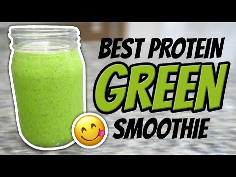 How To Make A Whey Protein Green Smoothie Recipe (POST CHEAT MEAL CURE)