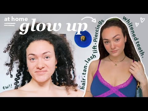 a LONG overdue glow up transformation 🧚🏼♀️✨ getting my life together after having COVID