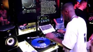 DJ T-Nice at 2014 DJ Expo