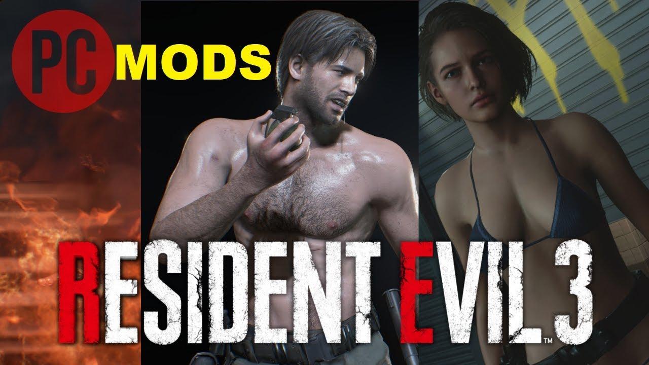 Resident Evil 3 Jill Bikini Carlos Shirtless Nemesis Beach