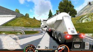 Truck Simulator Europe 2 - Cement Truck Transport - Android Gameplay FHD screenshot 2