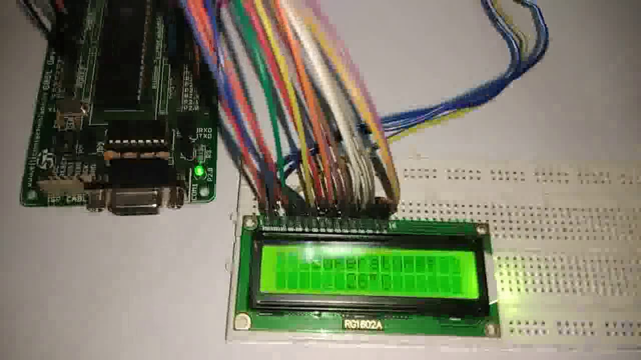 digital thermometer using lm35 and microcontroller youtube