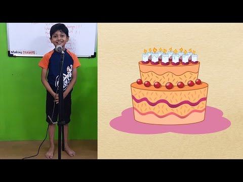 Speech on My Last Birthday
