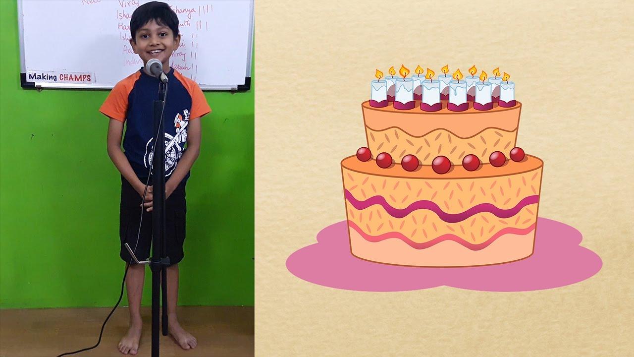 Speech on My Last Birthday YouTube