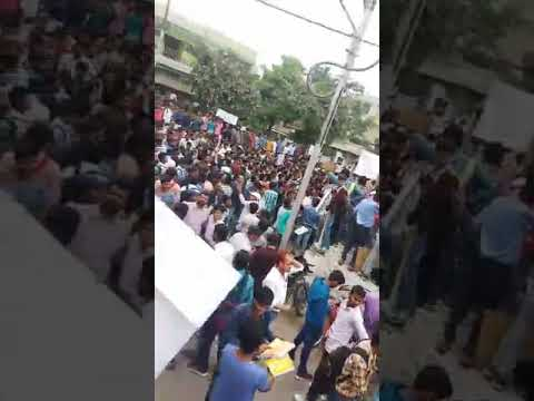 || SSC Protest in Allahabad By Students And teachers || SSC Protest in Allahabad || #SSC Scam