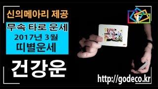 2017년 운세 3월 띠별 건강운 (개띠운세 돼지띠운세 및 사주)