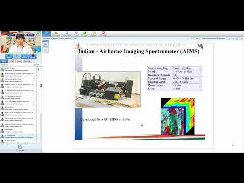 18 Sep 2017  Hyperspectral remote sensing: Platform and sensors_Mr. Vinay Kumar