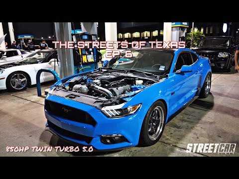 Twin Turbo Mustang vs Texas Streets (SMURF BEATS EVERYTHING) - TX2K18