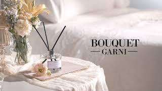 꽃향기와 머스크향의 조합, 부케가르니 디퓨저 - 화이트…