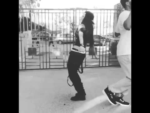 Tristin Mays hits Shmoney Dance