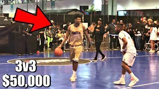 DDG vs. Blueface $50,000 3v3 Celebrity Basketball Game!!