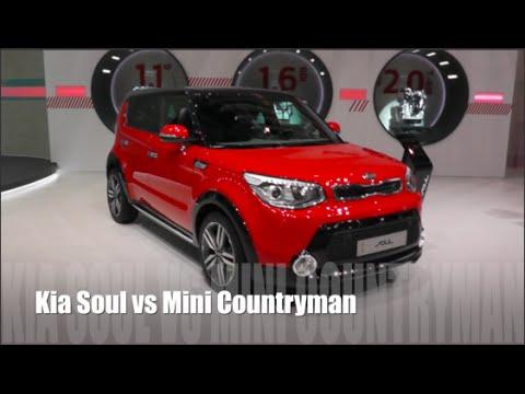 Kia Soul 2017 Vs Mini Countryman