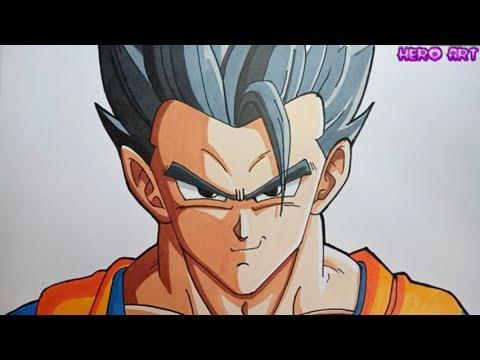 Phương Pháp vẽ Chân Dung Dragon Ball-Vẽ GOHAN Siêu Tốc