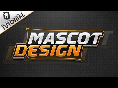 Photoshop Tutorial: Creating Creative Mascot / Text Logo