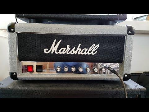 Marshall Mini Silver Jubilee Head Demo