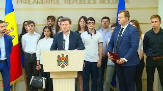 Dan Perciun și Dinu Plîngău Au Prezentat Un Set De Acțiuni Orientate Sectorului De Tineret