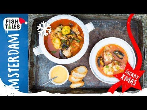 ❄️ BOUILLABAISSE Fish Soup ❄️ | Bart Van Olphen