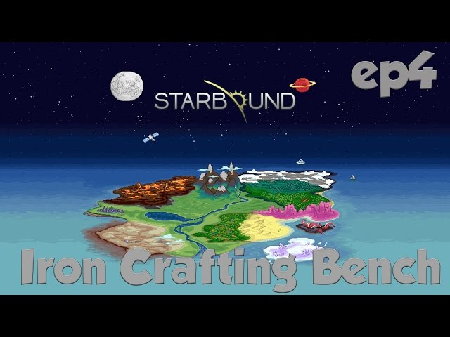 starbound iron crafting table 1