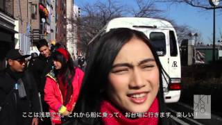 Celebrity on Vacation Goes to Tokyo | Behind The Scene Day 1