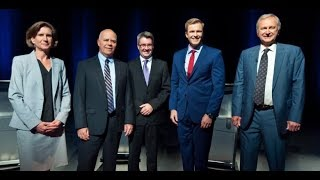 New Brunswick party leaders' English-language election debate 2018