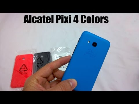 Alcatel Pixi 4 Colors - Unboxing e Impressões