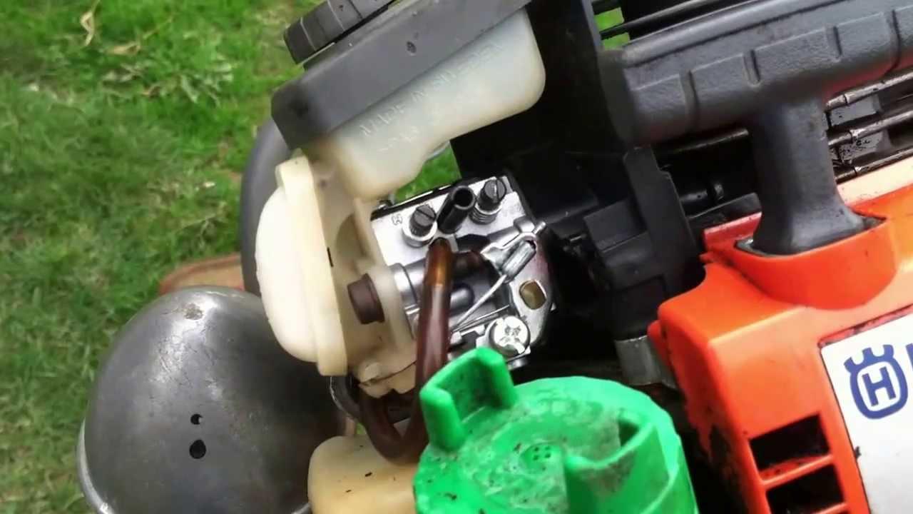 how to husqvarna weed wacker carburetor fix [ 1280 x 720 Pixel ]