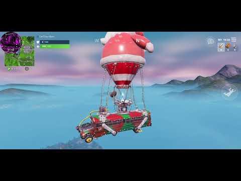 Fortnite Christmas Battle Bus Makes A Return Youtube