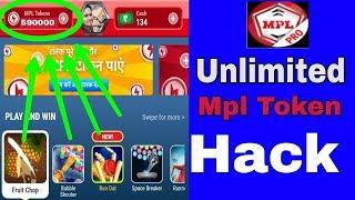 MPL unlimited loot trick, Mpl pro App Unlimited Mpl Tokens Hack Mpl Tokens Unlimited Trick
