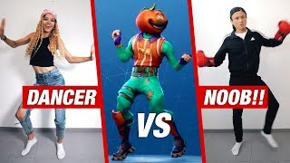 FORTNITE dança na vida REAL! | * Dancer VS noob *