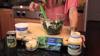 Cold Spinach & Marinated Artichoke Dip : Dietitian In The Kitchen