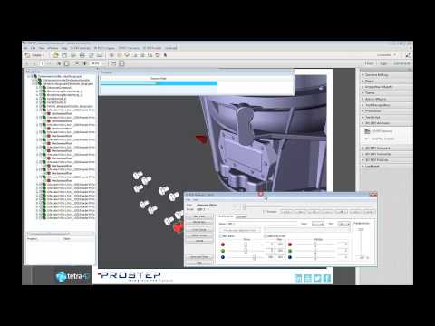 3D PDF Animation: Moving 3D Objects within a PDF document
