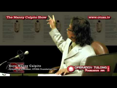 PENTASI B SOCIETY AND A MESSAGE FOR  INVENTORS PART 1 THE MANNY CALPITO SHOW