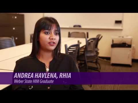 Online Degree: Health Information Management at Weber State