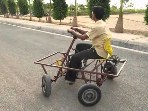 four wheel steering system.wmv