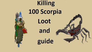 Guide and loot from 100 Scorpia