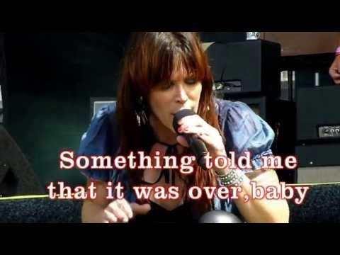 Beth Hart  KARAOKE  I'd Rather Go Blind  lyrics كلمات الاغنية 歌詞 बोल lirik 歌詞