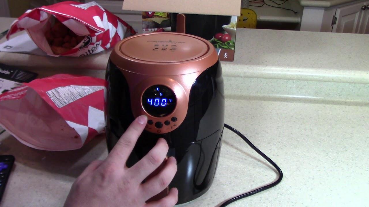 copper chef 2 quart air fryer review