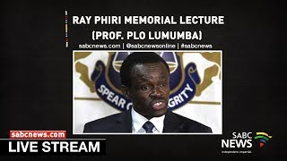 Download Mp3 Prof. Plo Lumumba Delivers Ray Phiri Memorial Lecture