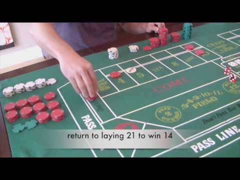 "Craps betting strategy - ""growth"" system with high action / low risk!"