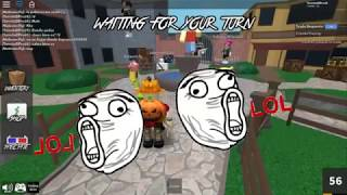 Happy Halloween :V!!! Playing MM2 With Mateo ROBLOX
