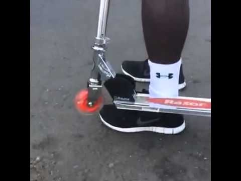 hqdefault when the scooter hits your ankle youtube
