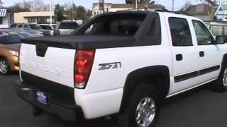 2004 Chevrolet Avalanche 4x4 Z71 Sport Activity Pickup