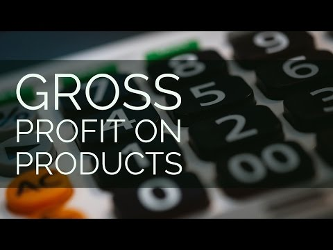Video 26: Gross Profit On Products | The Hospitality Coach | How To Start A Coffee Shop