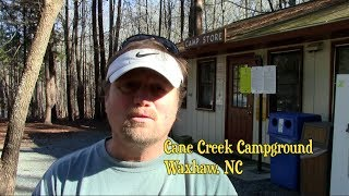 Cane Creek Campground, Waxhaw NC