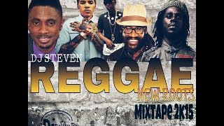 DJ STEVEN - REGGAE NEW ROOTS MIXTAPE AUG 2015