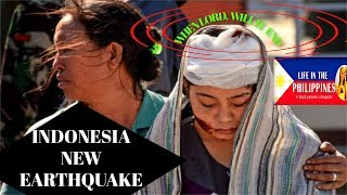 INDONESIA NEW EARTHQUAKE SHAKES LOMBOK ISLAND