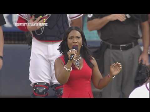 Judge Lauren Lake Performs National Anthem