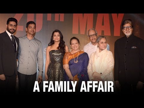 Aishwarya Rai's Sarbjit Premiere Saw Her Family And Many Friends In Attendance